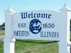 Welcome to Smithton Illinois Sign